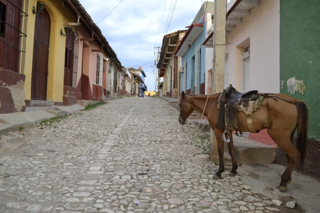 A street in Trinidad